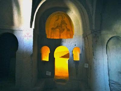 Church of Pantokrator in Goreme Open Air Museum Cappadocia