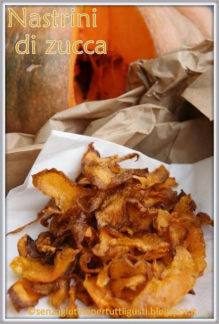 nastrini di zucca fritti