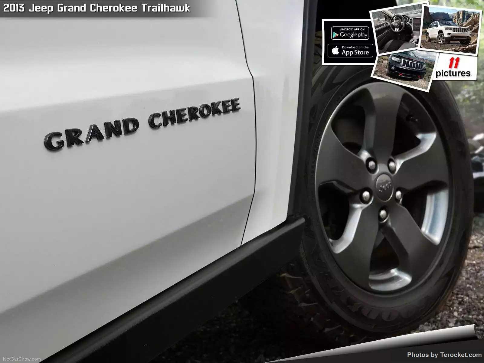 Hình ảnh xe ô tô Jeep Grand Cherokee Trailhawk 2013 & nội ngoại thất
