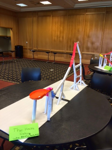 Libraryland: Paper Roller Coasters