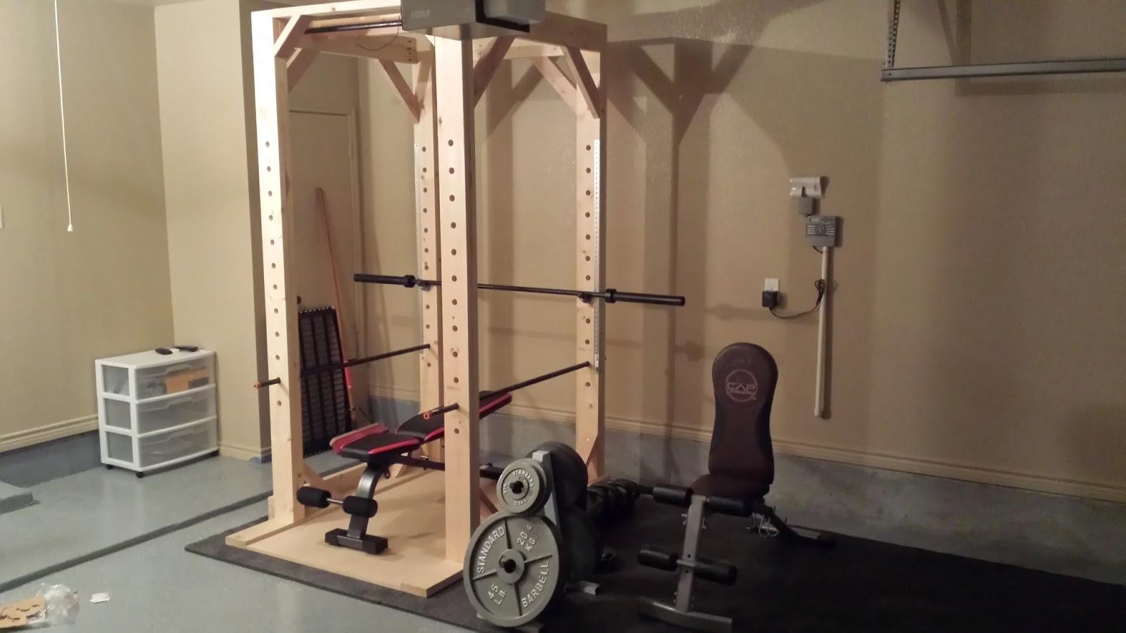 Easy to Build DIY Power Rack Squat