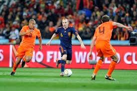 Holanda vs España en partido amistoso