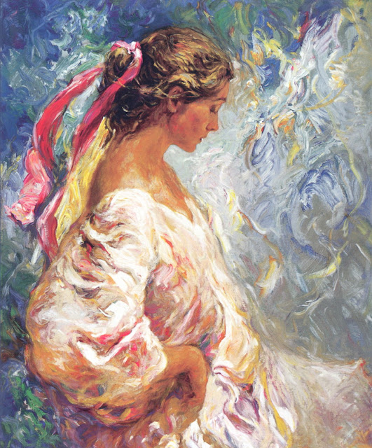 between the blues, Jose Royo,art