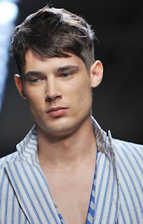 Mens haircut with Fringe - Men Hairstyle Haircut Ideas