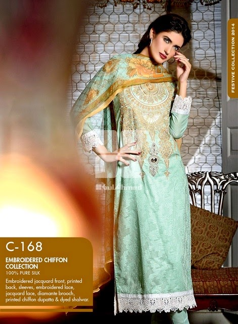 Gul Ahmed Festive Eid Collection 2014-2015