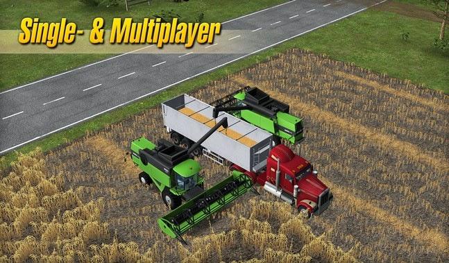 Farming Simulator 14 android apk - Screenshoot