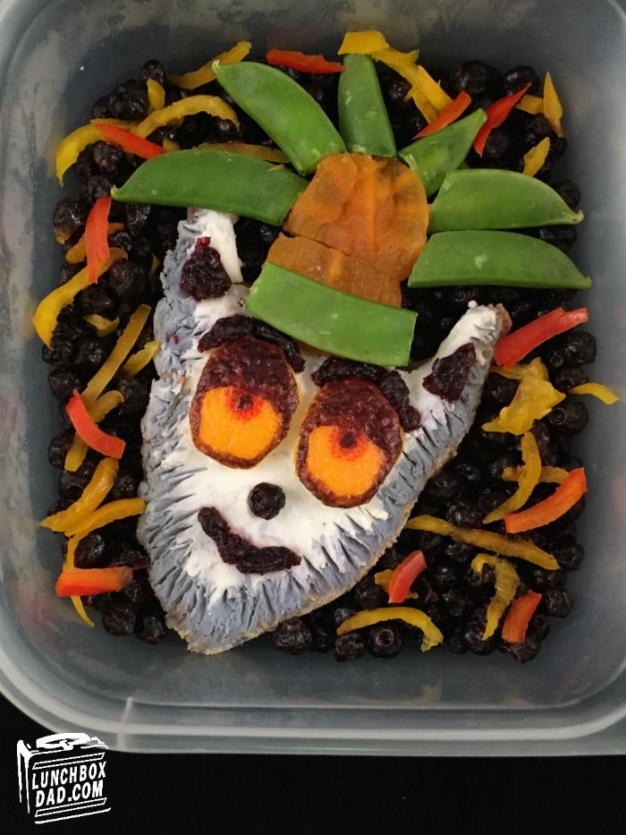 King Julien bento lunch Madagascar All Hail King Julien