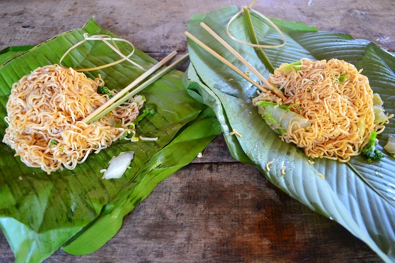 Thailande, Treck, village, nouilles