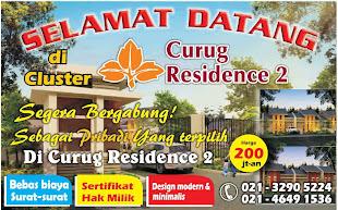 """Curug Residence """"200Jt-an"""""""