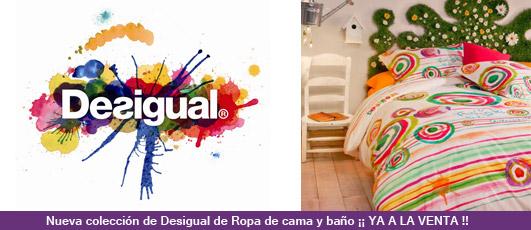 Nueva web especializada desigual del grupo d 39 orte d 39 orte zaragoza cortinas estores panel - Desigual ropa de cama ...