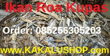 Ikan Roa Ternate: Ikan Roa Asap Kupas