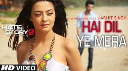 Hai Dil Ye Mera - Hate Story 2 (2014) HD Music Video Watch Online