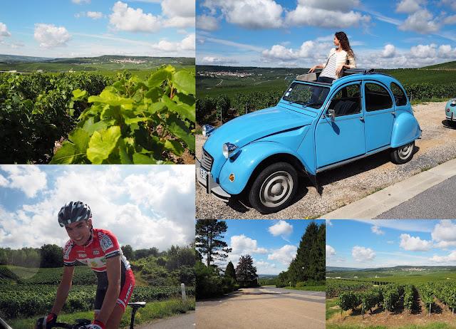France, Champagne, Epernay, Citroen 2CV