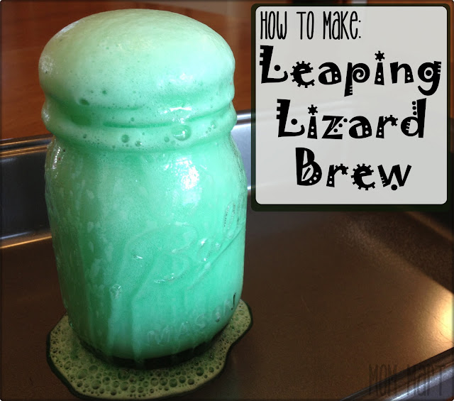 Crafts For Kids: How to Make Leaping Lizard Brew