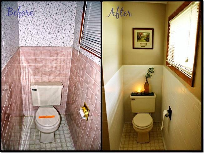 Mamparas duscholux ideas sencillas para redecorar tu ba o - Pintar los azulejos ...