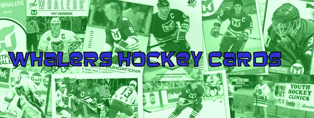 Whalers Hockey Cards