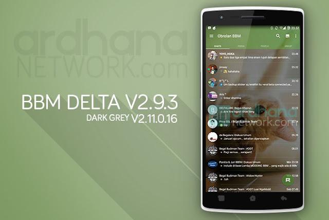 BBM Delta V2.9.3 - BBM Android V2.11.0.16