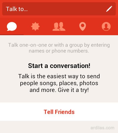 Cara Mendaftar / Membuat Akun di Aplikasi Path Talk - Android - Selesai