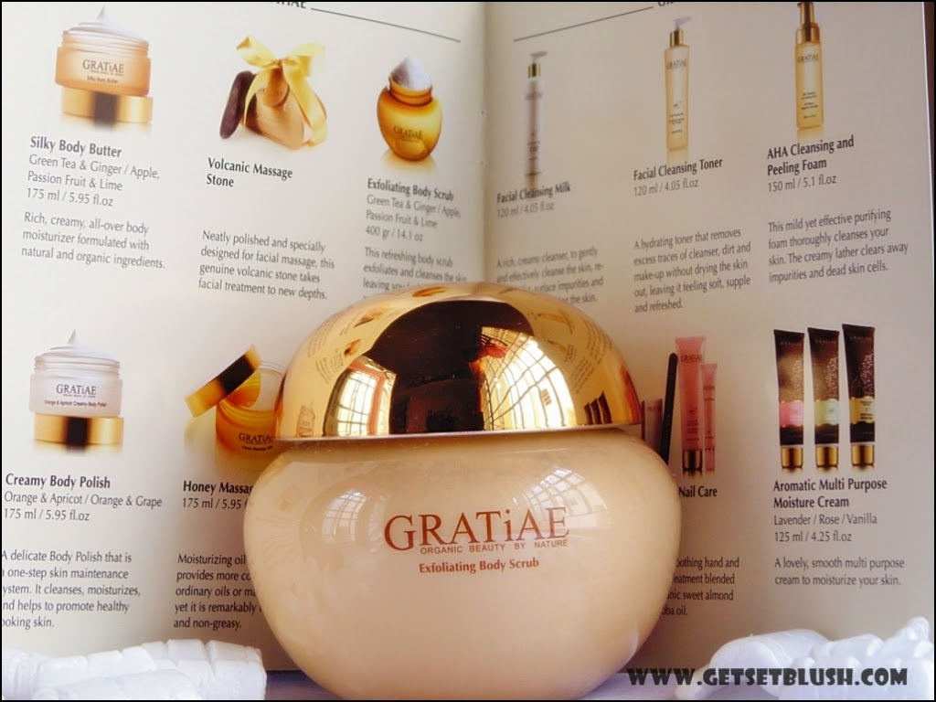 GRATiAE - Exfoliating Salt Scrub (Apple, Green Tea and Ginger) Review