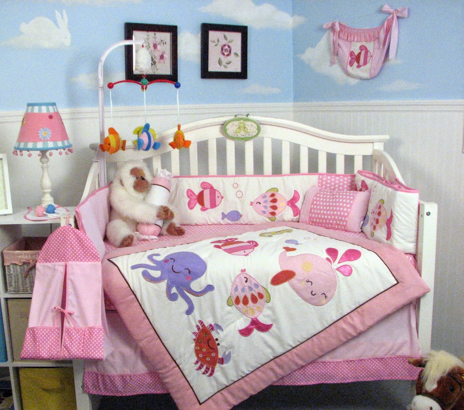 Here Is Another One Of Those Great Soho Nursery Sets That Has A Ton Decor Items Come In Very Reasonably Priced Package This Sea Sweetie Set
