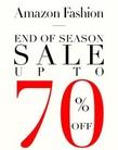 Amazon Fashion End of Season Sale upto 70% off