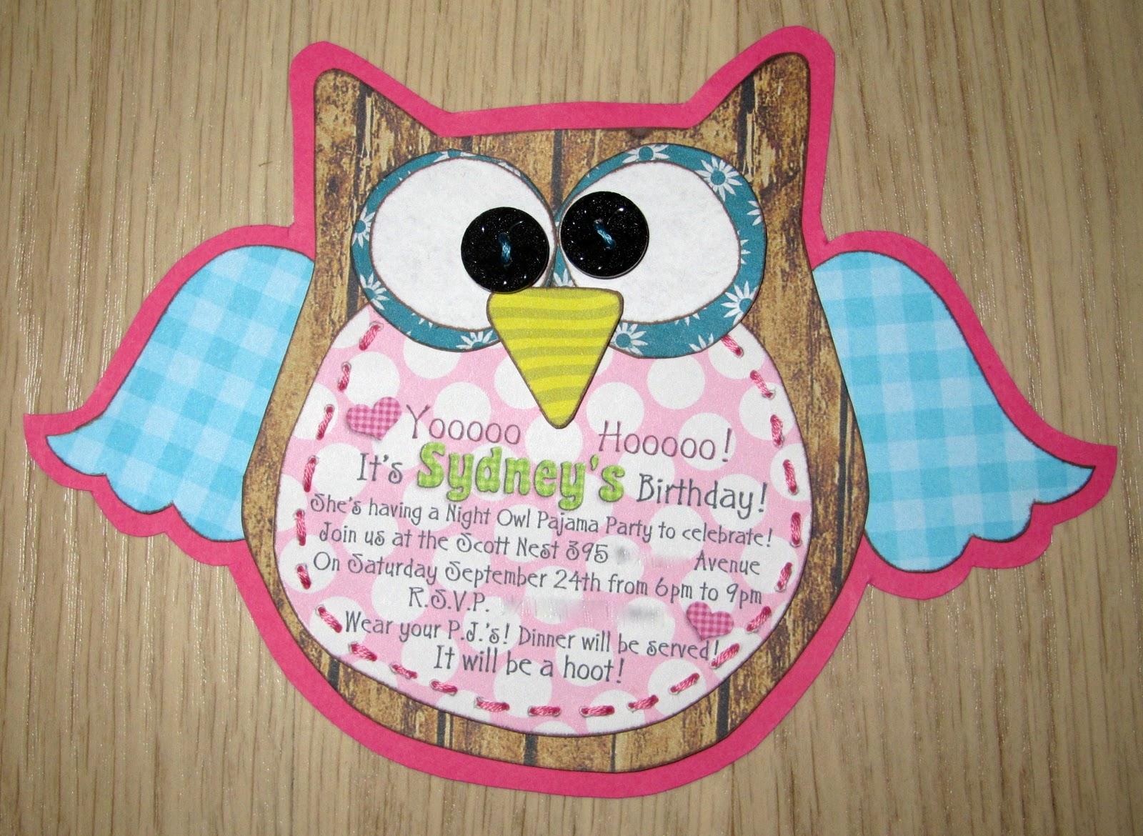Too Stinkin Cute REAL PARTY Night Owl Birthday Party