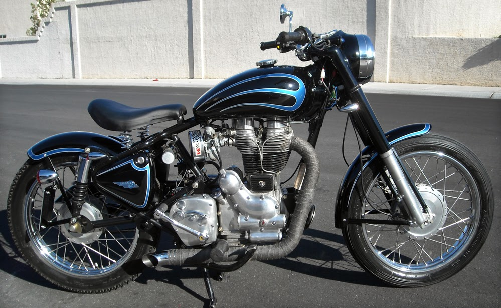 Royal Enfield Motorcycles: Royal Enfield bobber is ...