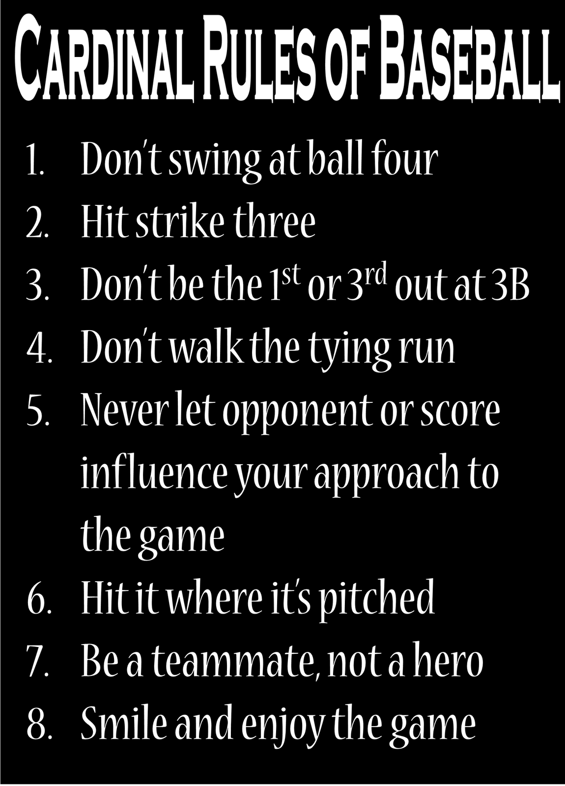 t ball rules