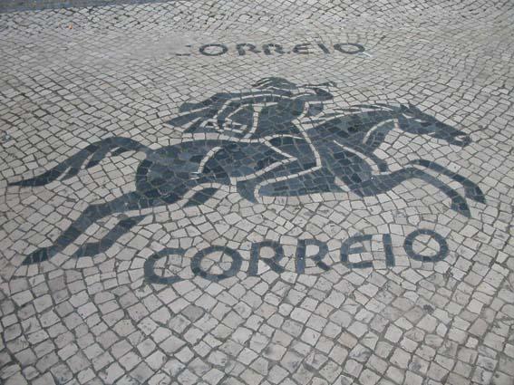 Calçada em Lisboa - foto de Constança Lucas