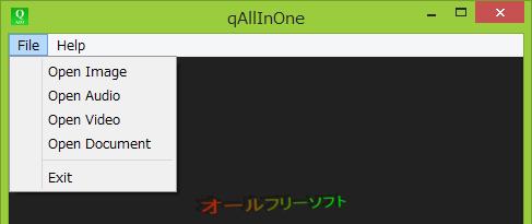 برنامج مجاني لتشغيل جميع أشكال الوسائط المتعددة علي جهازك qAllInOne 0.97