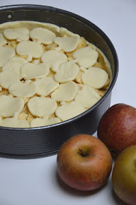 Apfelkuchen mit Apfeldecke