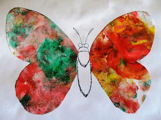 Красивая бабочка, не правда ли?
