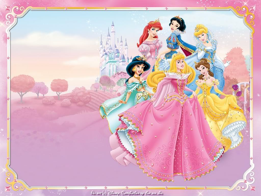 Princesas Coroadas Disney