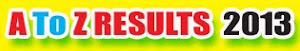 Results &amp; Notifications  2012 - 2013