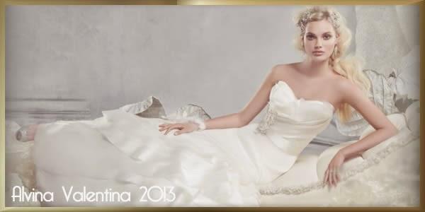 Alvina Valentina 2013, des robes intemporelles avec des coupes sophistiquées.