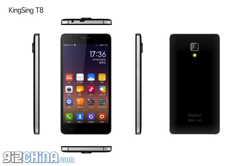 KingSing T8, Harga dan Spesifikasi HP Mirip Xiaomi Mi4 Prosesor Octa Core