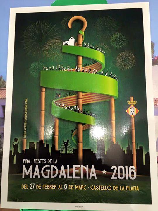 Cartel anunciador Fiestas Magdalena 2016