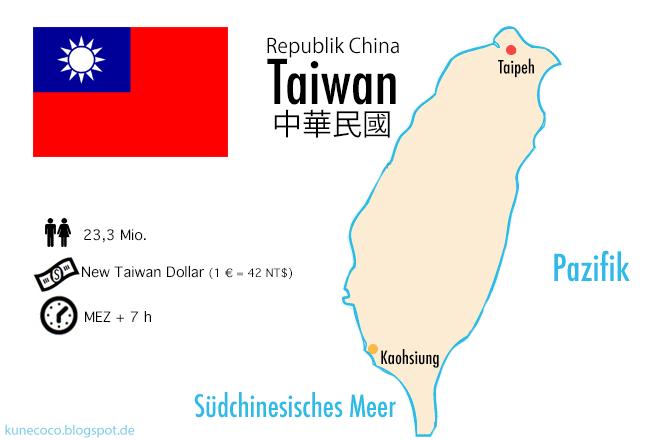 Infografik Taiwan