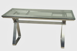 Mesa Aluminio Cristal Rest