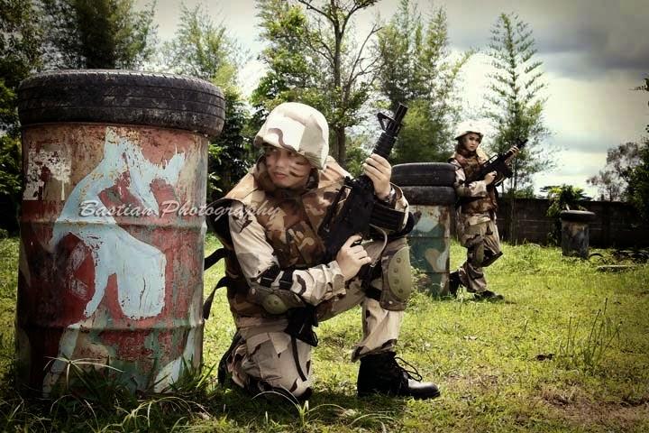 Foto Pre Wedding Tentara Perang | Foto Artis - Candydoll