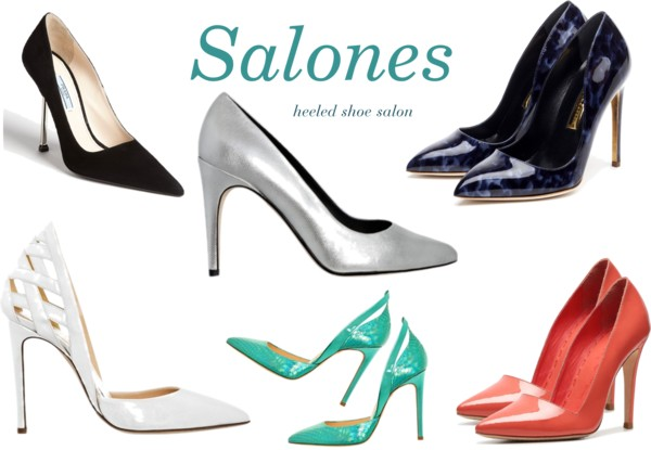 Zapatos Salon Tacon Alto