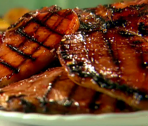 Pork Chops With Apricot Brandy Sauce Recipes — Dishmaps
