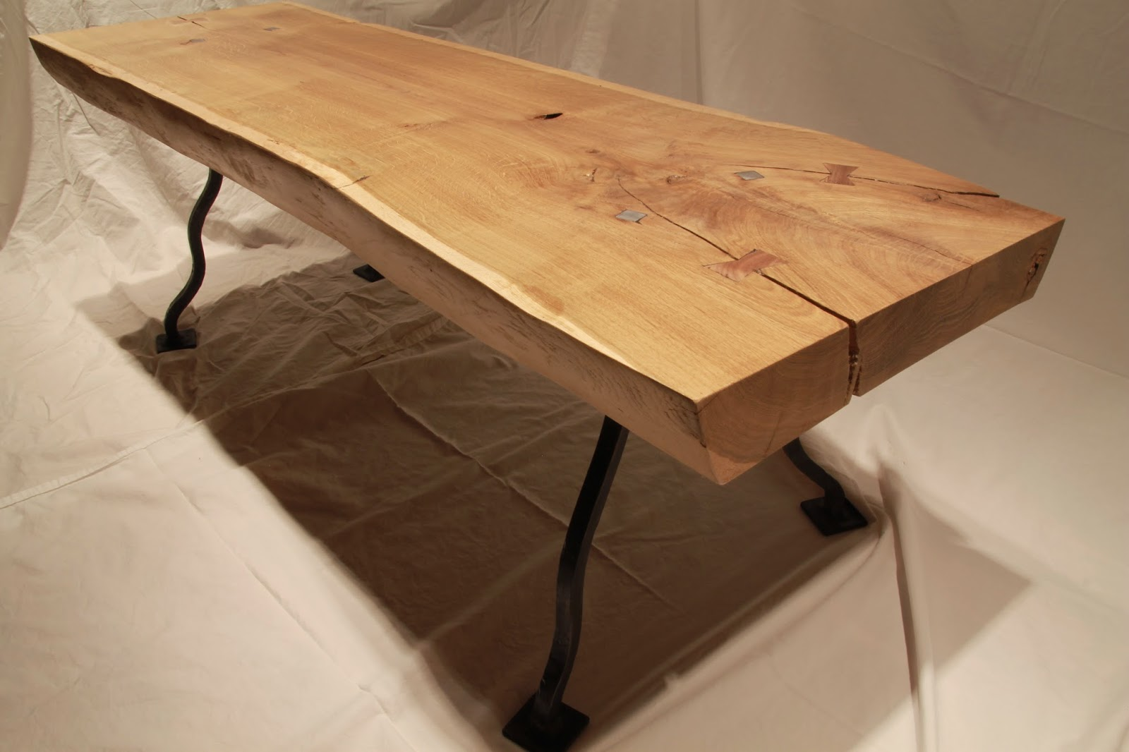 Stout Oak Coffee Table. Here Is The Latest Piece Out Of The Studio. The Top  Is Most Plainly A Solid Slab Of European White Oak That Has Been Resting In  A ...