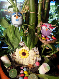 ooak owl door fairy gnome hobbit