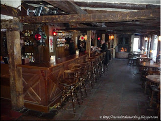 Fox and Hounds bar on lower level