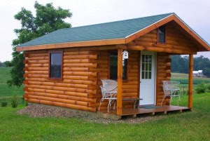 Rumah Kayu Bergaya Modern