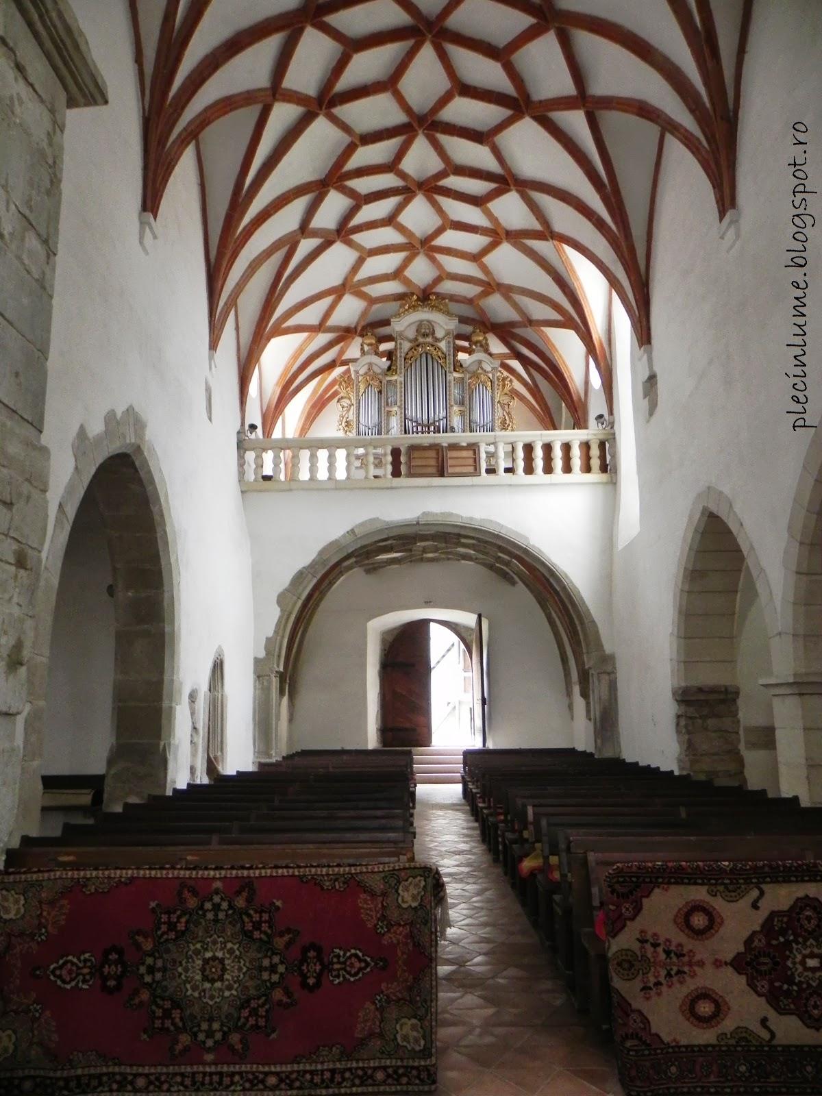 Biserica din Prejmer in interior