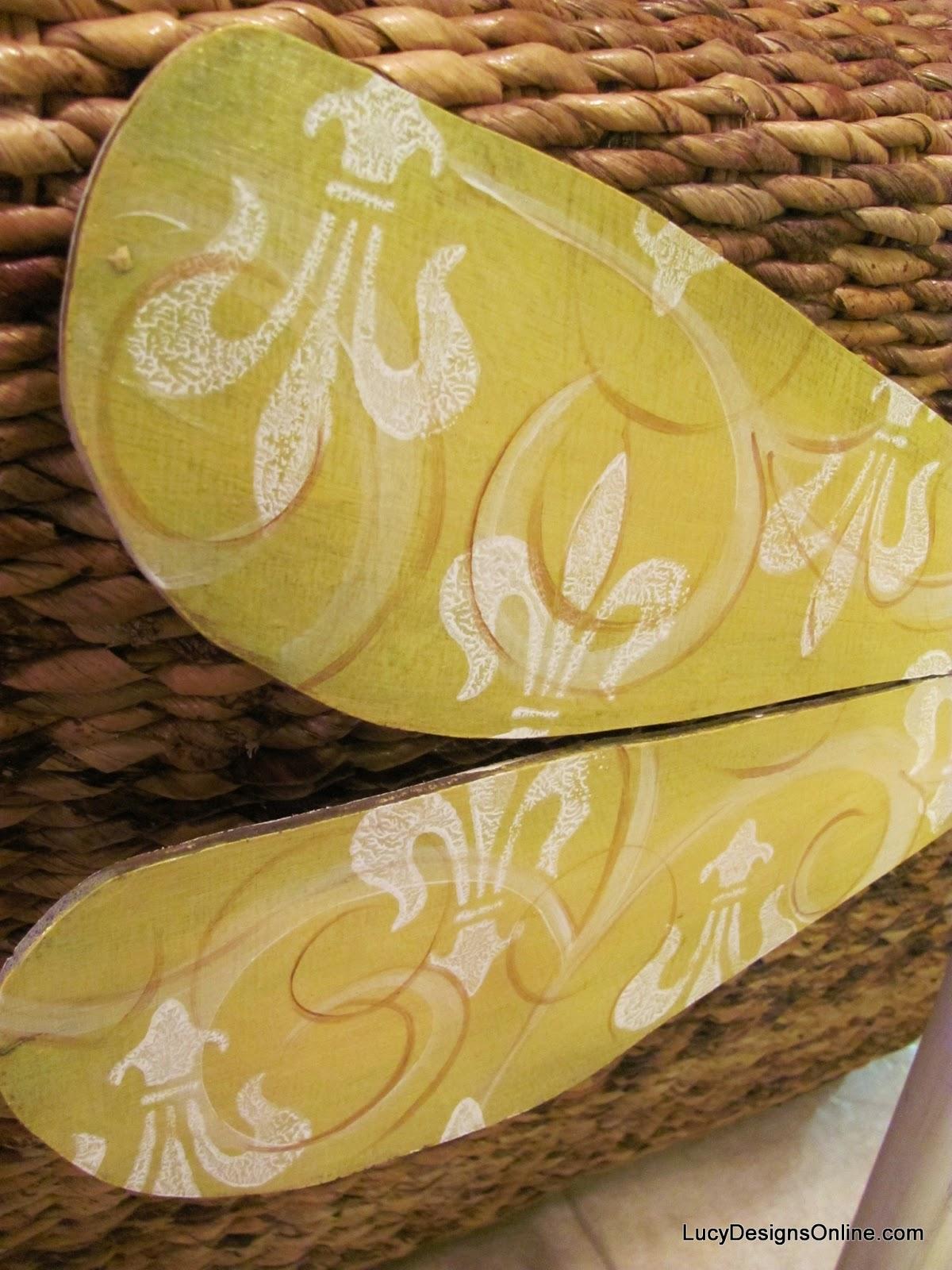 yellow fleur de lis dragonfly