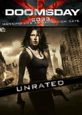 Poster Of Doomsday 2008 UnRated 720p BRRip Dual Audio