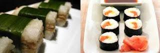 Lemper vs Sushi